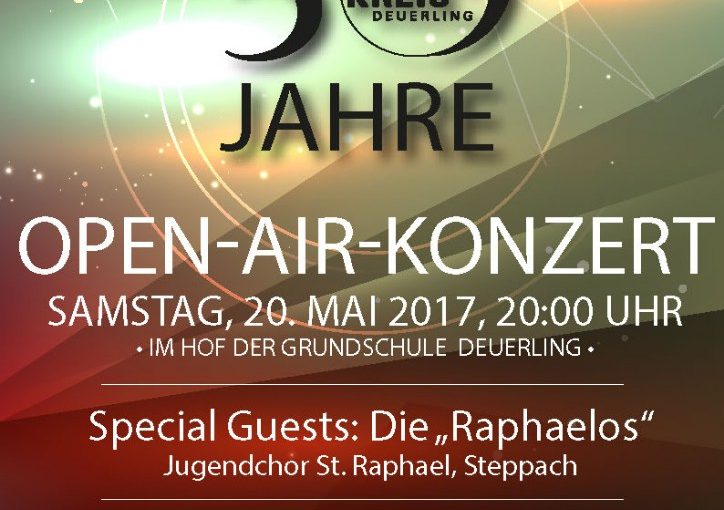 Open Air Konzert am 20.05.