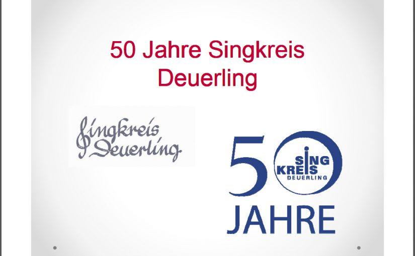 Rückblick 50 Jahre Singkreis