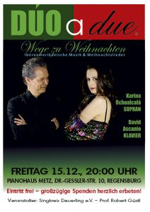 Dúo a due @ Pianohaus Metz | Regensburg | Bayern | Deutschland