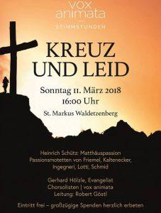 vox animata Konzert @ Markuskirche | Laaber | Bayern | Deutschland