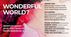 Benefizkonzert Wonderful World @ Neupfarrkirche Regensburg