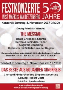 Weihnachtsoratorium von J. S. Bach @ St. Markuskirche Waldetzenberg