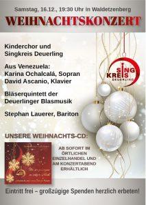 Weihnachtskonzert @ Kirche St. Markus | Laaber | Bayern | Deutschland